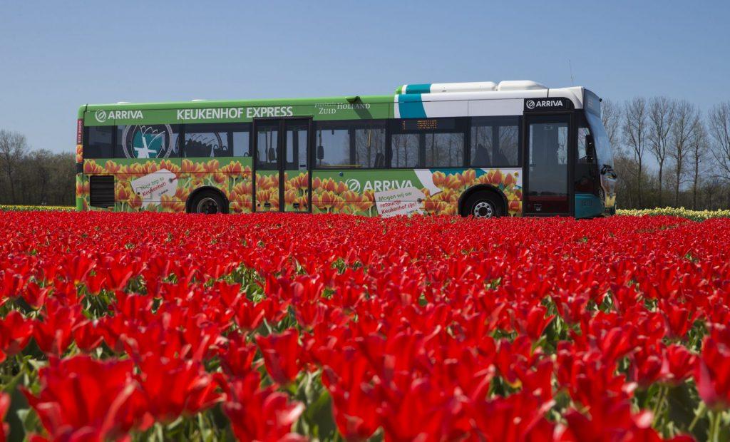 Mit öffentlichen Verkehrsmitteln